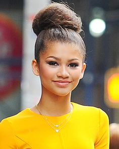 Give your classic bun a boost of volume this fall by sporting an oversized version of the top knot like Zendaya Coleman. Prep for the daring...
