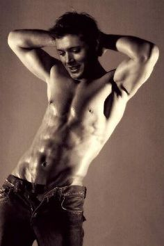 Jensen Ackles...this is the sexiest thing
