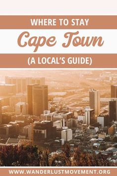Where to stay in Cape Town: a local's travel guide to the best neighbourhoods in Cape Town, hotels, and things to see in each spot. Plus, where NOT to stay in Cape Town, South Africa! Travel Guides, Travel Tips, Travel Plan, Travel Hacks, Travel Advice, Budget Travel, Safari, Cape Town Hotels, Cape Town South Africa