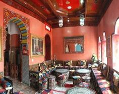 Moroccan-House-Marrakech-Guest-Room