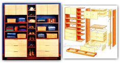 DIY Clothes Storage Space - Furniture Plans and Projects | WoodArchivist.com