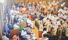 MQM-dominated city council adopts joint resolution against Altaf Hussain - DAWN.com