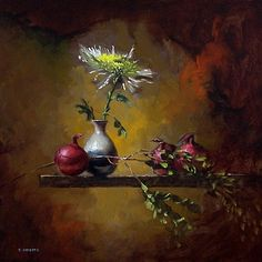 by David Cheifetz (artist) Watercolor Art Paintings, Great Paintings, Painting & Drawing, Still Life Photos, Pastel Pencils, Fruit Art, Chalk Pastels, Pastel Art, Abstract Flowers