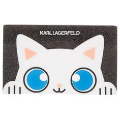 Karl Lagerfeld Choupette Minaudiere Clutch Black  in black, Evening... (4.007.645 VND) ❤ liked on Polyvore featuring bags, handbags, clutches, black, cat purse, leather purses, glitter evening bag, real leather purses and chain purse