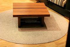 tapis tapis crochet lin pur lin tapis / tapis de tricot / tricoté au crochet à tapis / tapis /