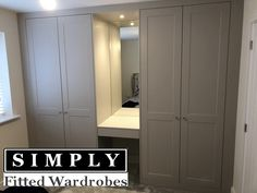 This is our Rockingham Range of Fitted Wardrobes. The Matt cashmere finish combined with the mirror and light creates a lovely cosy feel in this fitted bedroom. Room Makeover, Dressing Table Mirror, Bedroom Cupboards, Bedroom Interior, Girl Room, Bedroom Inspirations, Wardrobe With Dressing Table, Laundry Room Layouts, Bedroom Built In Wardrobe