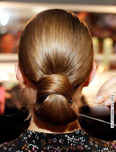 New York Fashion Week Hair.