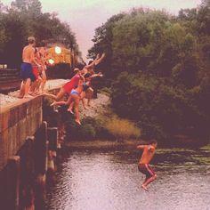 Teenage summer fun