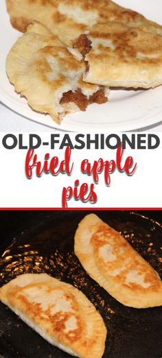 Fried apple pies like granny used to make sweet apple filling inside tender fried pastry dough! simple southern cooking at its best! apple applepie turnovers handpies southernfood apple pie filling for canning Homemade Apple Pies, Apple Pie Recipes, Apple Desserts, Delicious Desserts, Dessert Recipes, Fun Recipes, Cookie Recipes, Recipies, Fried Apple Pies