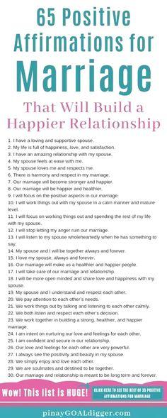 Marriage Goals, Marriage Relationship, Happy Relationships, Marriage Advice, Love And Marriage, Dating Advice, Positive Marriage Quotes, Marriage Romance, Relationship Challenge