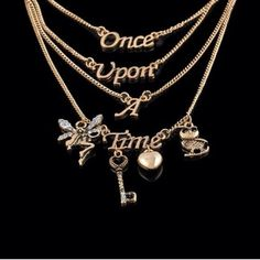 Once upon a time fairytale tiered necklace As pictured . Brand new . Bundle and save Jewelry Necklaces