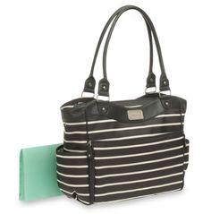 Amazon.com: Carter's Zip Fashion Diaper Bag, Front Stripe: Baby