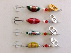 Fishing Lures spinner bottle beer cap #Fishing señuelo pesca Hecho en México, Made for Ever