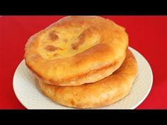 PLACINTE BABANE RUSESTI / RUSSIAN PIE - YouTube Bagel, I Foods, Bread Recipes, Pie, Breakfast, Youtube, Crafts, Sweet Treats, Loaf Recipes