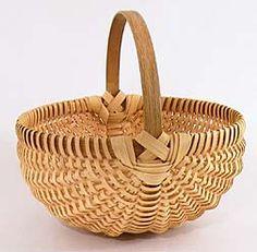 "10"" Melon Shaped Egg Basket Pattern"