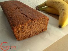 Couzinista: Light κέικ μπανάνας χωρίς ζάχαρη Cake Cookies, Banana Bread, Food And Drink, Diet, Cooking, Breakfast, Pastries, Desserts, Recipes