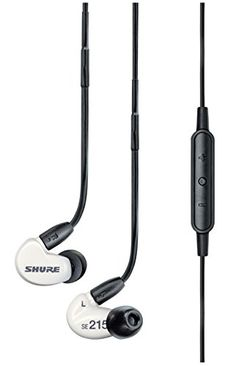 Shure SE215m+ Special Edition Sound Isolating Earphones with Remote and Microphone