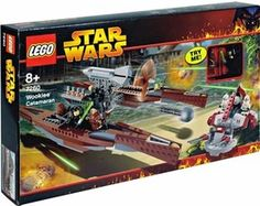 LEGO Star Wars Set #7260 Wookie Catamaran