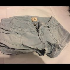 Abercrombie and Fitch corduroy shorts Light blue corduroy shorts Abercrombie & Fitch Shorts