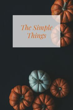 We all want a simpler existence, right? An easier life, less stress and overall a happier state of mind. No? Is it just me? Well, if it's not just me, here's what I think we all should do in order to simplify our existence.  #simplify #minimal #fall