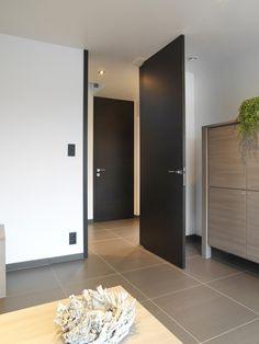 Nordex binnendeur draaideur moderne deur GFV 0 hout Bedroom Cupboard Designs, Bedroom Cupboards, Bedroom Doors, Window Design, Door Design, House Design, Black Interior Doors, Interior And Exterior, House Doors