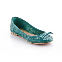 Lea Flat Teal, $45, now featured on Fab.