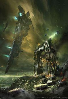 Killzone concept art - Jesse van Dijk