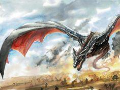Queen Of Dragons by CheshFire.deviantart.com on @DeviantArt