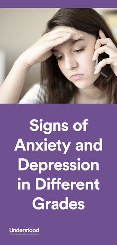 Learning and attention issues can have an impact on your child's emotions. In some cases, there's a higher risk for mental health issues like anxiety and depression. Use this information to get to know the signs of anxiety and depression at different ages.