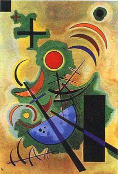 Русский художник Improvisation Василий Кандинский, Wassily Kandinsky.'