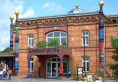 Hundertwasser train station Uelzen, Germany