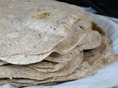 Basic Whole Wheat Tortillas (Sourdough) - these require a sourdough starter, so they're a little more involved than regular tortillas