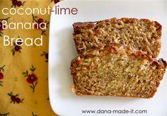 Dana's banana bread - make it with less sugar, no glaze, no applesauce (more plain unsw yoghurt) and gluten free flour and its still DEELICIOUS