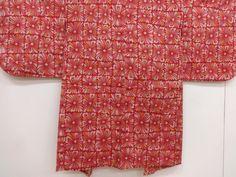 大正ロマン 抽象花模様織り出し長羽織