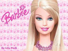 """ I'm a Barbie Girl, in A Barbie World…""-not just dolls anymore… Barbie Birthday, Barbie Party, Barbie Makeup, Dress Makeup, Hd Makeup, Barbie Cartoon, Free Barbie, Barbie Paper Dolls, Barbie Images"