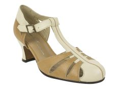 The Re-Mix Balboa 2 Heels come in Black and Grey, and Ivory and Tan