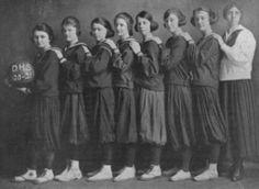 Decatur High School Girls Basketball team 1920-21.