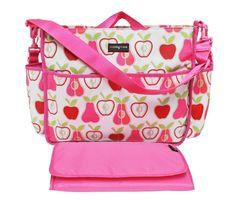 Lulu Baby Changing Bag - Apple Pear - Lulu Changing Bags - Shop Online - Momymoo