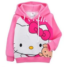 Pink Hello Kitty hoodie