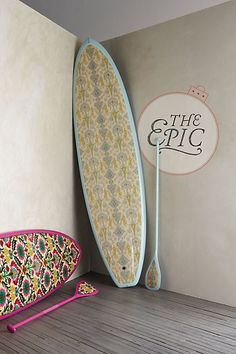 What's that an anthropologie stand up paddle board for $6500+250 for shipping?  Who doesn't need this?