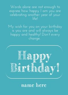Create birthday card with PixTeller - RePix to change the text - Add text to your images with PixTeller