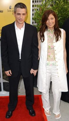 Catherine Keener and Dermot Mulroney - Years married: 1990-2007 The actors met in 1987 on the set of the action thriller Survival Quest. They filed for divorce in 2007 citing irreconcilable differences. They have one son, Clyde, born in 1999.