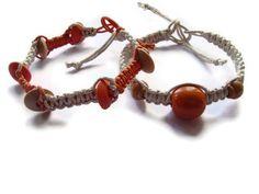 Macrame Bracelet Gift Ideas Fall Fashion Cord Bracelet by BMaja, $15.00