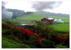 Western Maryland Mountain Valley Farm