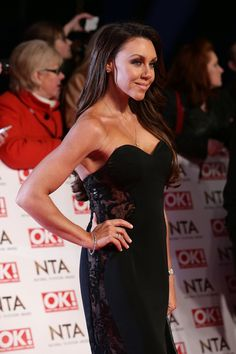 Michelle Heaton in Pia Michi at the National Television Awards....get yours in store now