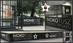 Mokotusz Tattoo Studio in Warsaw, Poland. #entrance #gate #tattoostudio #tattoostudioexterior #interiors #interior #interiordesign #tattoostudioentrance