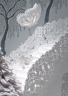 Zoe Bradley for Tiffany & Co. by The Makerie Studio , via Behance. So intricate. BEAUTIFUL!