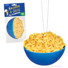 Mac N Cheese Air Freshener! So cool! See it here >> www.beserk.com.au/accoutrements