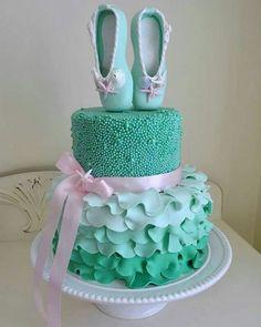 Tort dla baletnicy #ballerinacake