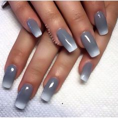 In search for some nail designs and ideas for your nails? Here is our list of 38 must-try coffin acrylic nails for fashionable women. Fabulous Nails, Gorgeous Nails, Fancy Nails, Trendy Nails, Ombre Nail Designs, Nail Art Designs, Nails Design, Gradient Nails, Acrylic Nails